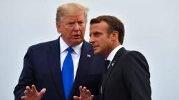 Wie es Macron gelang, Trump gnädig zu stimmen