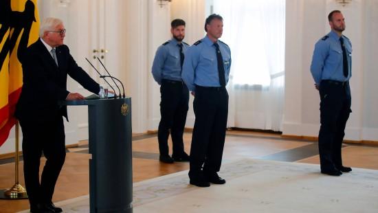 Steinmeier dankt Polizisten