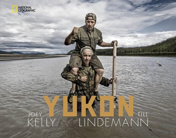Das Buch: Joey Kelly & Till Lindemann: Yukon. Mein gehasster Freund. National Geographic Verlag, 192 Seiten, 100 Abbildungen, 79 Euro.