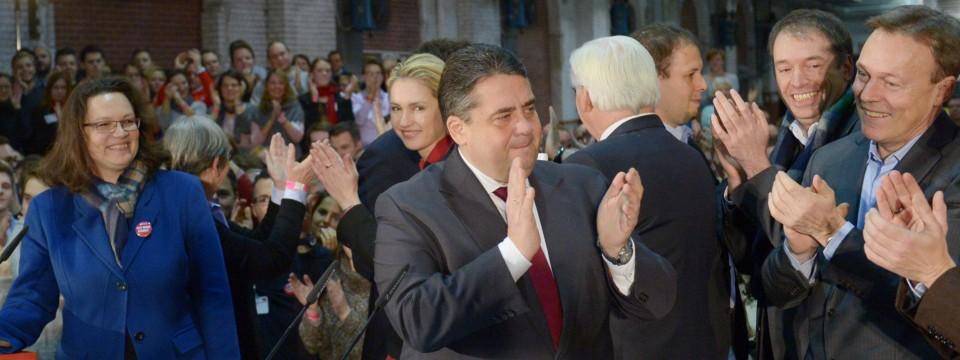 SPD-Mitglieder billigen Koalitionsvertrag: Gabriel spricht von einem ...
