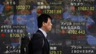 Japans Exporte steigen, die Handelsbilanz jedoch nicht.
