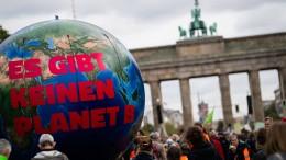 Massenproteste fürs Klima