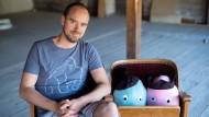 """Sebastian Jansen - der Filmemacher hat mit """"Der kleine Achill"""" eine Serie für Kinder produziert, die schon mit einem Preis ausgezeichnet wurde und am Wochenende Premiere feiert."""