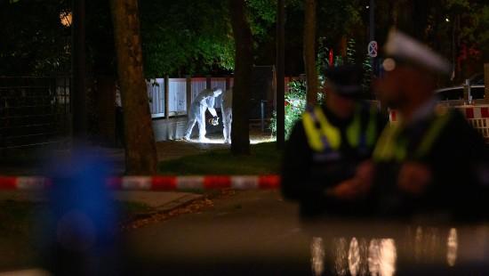 Angriff vor Hamburger Synagoge