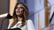 War mit ihrer ursprünglichen Rede für den Parteitag offenbar unzufrieden: Trump-Gattin Melania