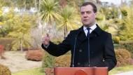 Medwedew kritisiert die Haltung der Europäischen Union