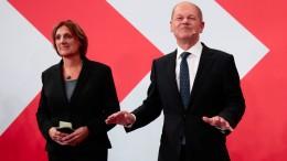 Scholz wertet Wählervotum als Regierungsauftrag
