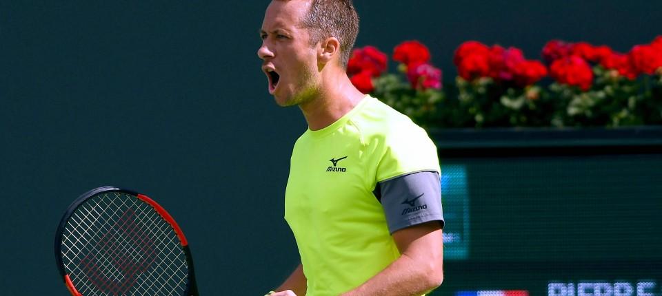 check out 8dd63 87319 Tennis: Philipp Kohlschreiber in Indian Wells erfolgreich