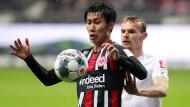 Vom Wackelkandidaten zum Stammspieler: Daichi Kamada überzeugt bei der Eintracht und im Nationalteam.
