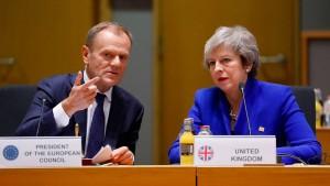 Tusk wirbt für längeren Aufschub des Brexits
