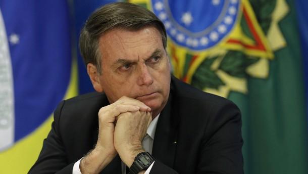Bolsonaro pfeift auf deutsches Fördergeld