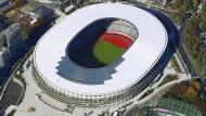 Im Stadion werden die Eröffnungs- und Abschlusszeremonien der Olympischen Sommerspiele 2020 stattfinden.