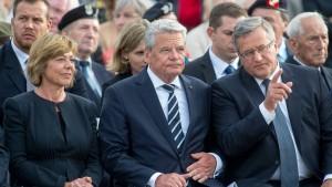 Gauck: Russland hat unsere Partnerschaft aufgekündigt