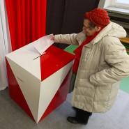 Da lief noch alles glatt: Eine Wählerin bei der Stimmabgabe vergangenen Sonntag