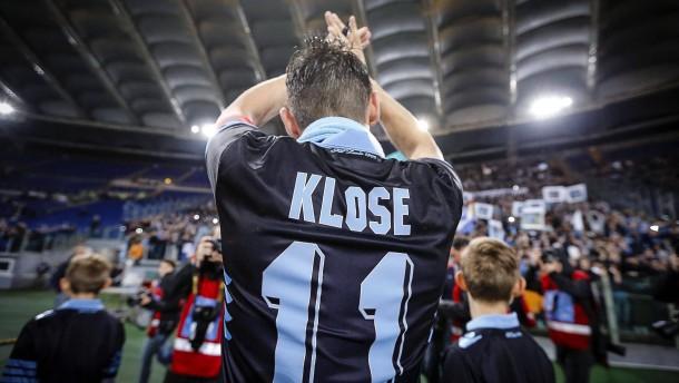 Emotionaler Lazio-Abschied für Klose