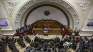 Venezuelas Parlament in Caracas