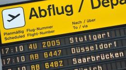 Für kürzere Flüge steigt die Steuer um 3 Euro