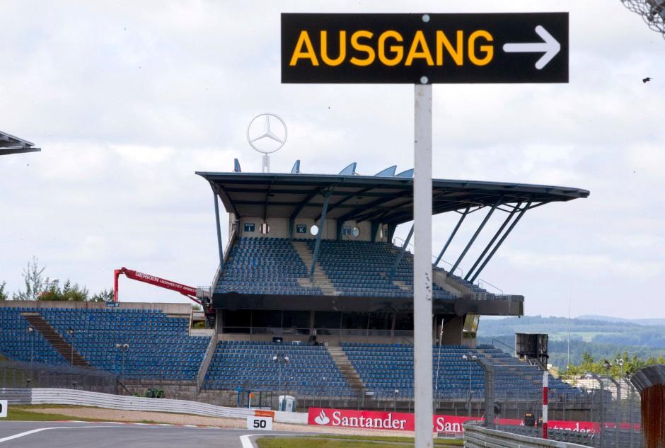 Ecclestone hat den Nürburgring nicht uneigennützig vor dem Aus bewahrt