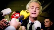 Wilders will mitregieren