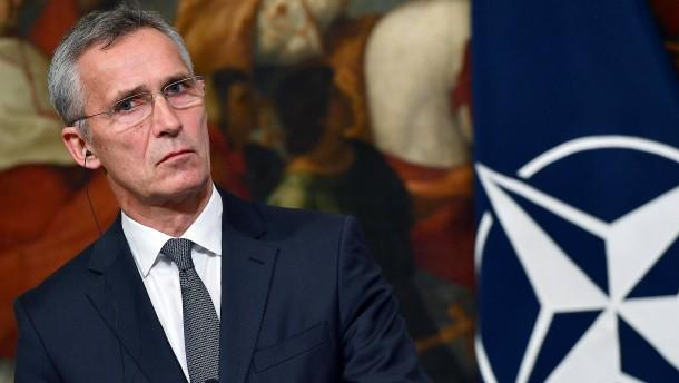 Stoltenberg zu Gespräch mit Putin bereit