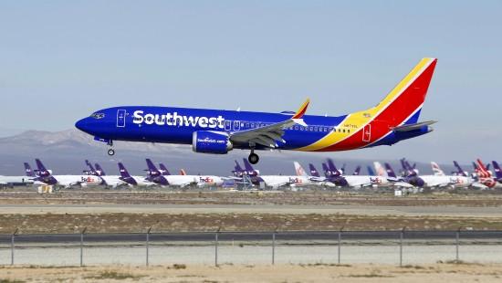 Notlandung von Boeing 737 Max