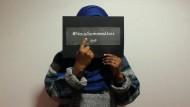 Muslimische Studenten bieten Terroristen die Stirn