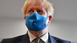 Boris Johnson gesteht Fehler ein