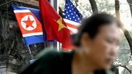 Hanoi bereitet sich auf den Gipfel zwischen Donald Trump und Kim Jong-un vor.