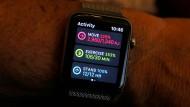 Da setzt das Herz schon Mal aus: Die Apple Watch 3 misst zwar präzise, gönnt sich bisweilen aber auch kleine Pausen.