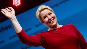 Giffeys SPD am Ende deutlich vor den Grünen