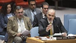 Russland blockiert Syrien-Resolution
