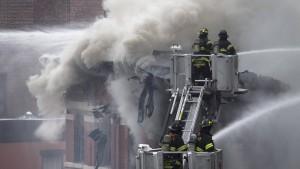 Viele Verletzte nach Explosion in New York