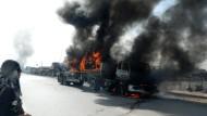 Tote bei Angriff auf Nato-Konvoi