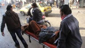 Assad setzt in Aleppo TNT-Bomben ein