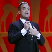 Der Neue an Helene Fischers Seite – jedenfalls für ein Weihnachtslied lang: Robbie Williams.