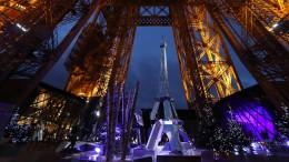 So schön funkelt der Eiffelturm
