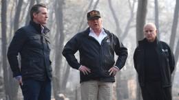Trump besucht Waldbrandgebiete in Kalifornien