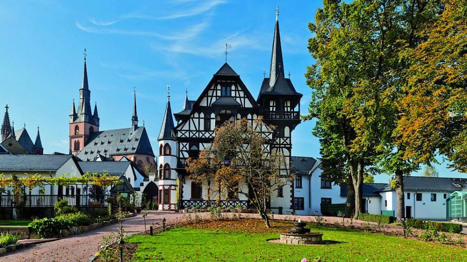 Das Stammhaus des Weinguts Robert Weil im Rheingau (Archivfoto)