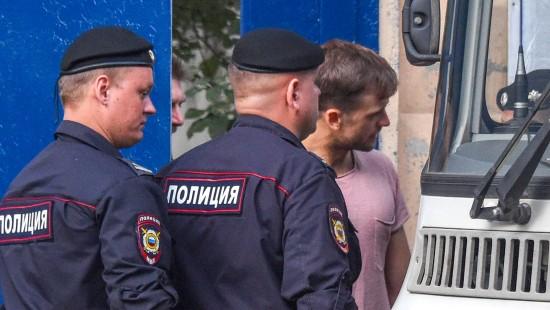 Russische Protestgruppe wieder festgenommen