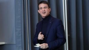 Schwerer Dämpfer für Valls in Vorwahl
