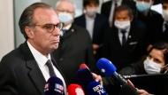 Manche nennen ihn einen Verräter: Renauld Muselier wollte ein Wahlbündnis mit einer Ministerin Macrons eingehen.