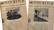 Nicht Churchill prägte den Begriff Eiserner Vorhang