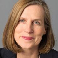 """Heike Göbel  - Portraitaufnahme für das Blaue Buch """"Die Redaktion stellt sich vor"""" der Frankfurter Allgemeinen Zeitung"""