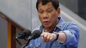 Philippinen ziehen sich aus Internationalem Strafgerichtshof zurück