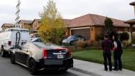 Von außen ist nicht zu erahnen, was sich in diesem Haus in Perris im Bundesstaat Kalifornien abspielte.