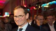 Angeschlagen nach der Affäre Holm: Berlins Regierender Bürgermeister Michael Müller (SPD)