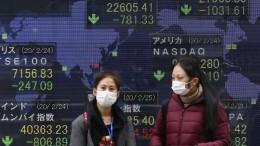 Coronavirus bedroht die Weltwirtschaft