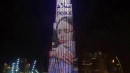 Dubai ehrt Ardern mit Bild auf höchstem Wolkenkratzer