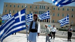 Wochen des Stillstands in Athen