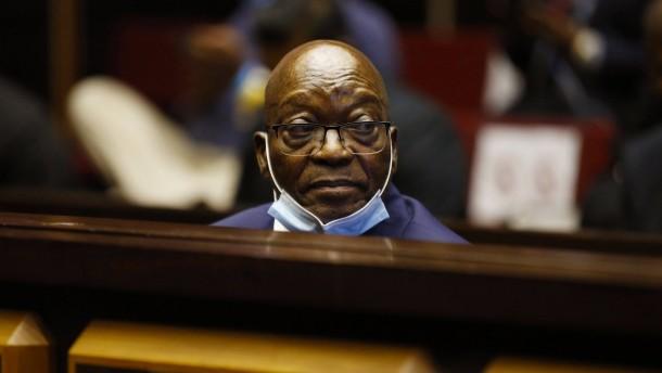 Früherer Staatspräsident Südafrikas muss ins Gefängnis